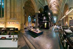 Boekhandel Dominicanen is housed in a thirteenth-century church in Maastricht