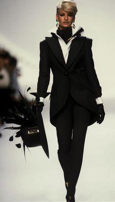 Dior (1991) Model: Linda Evangelista