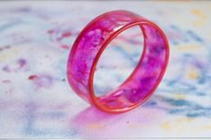 Make a bangle from a recycled plastic bottle