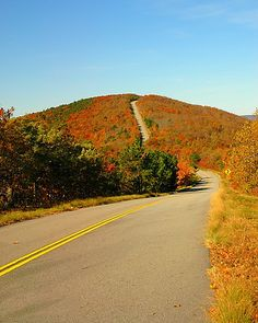 drive the Talimena Scenic Highway, between Oklahoma and Arkansas one of these days. autumn drive