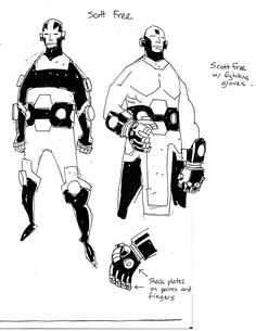 Mike Mignola's Lost NEW GODS Designs Resurface Online | Nerdist