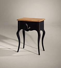 mesita de noche cajon vintage matisse material madera de cerezo existe la posibilidad de
