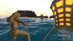 An ocean package for Unity:  Sundog Software SilverLining and Triton SDKs: Pirate Demo