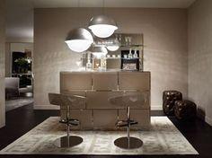 Angolo bar elegante e moderno