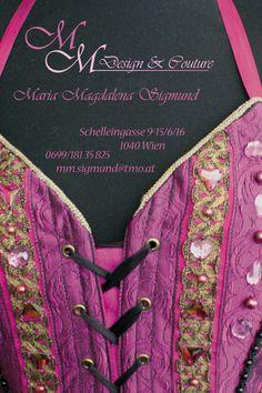 MM Design & Couture   Minifolder - Visitenkarte Couture, Design, Visit Cards, Haute Couture, Design Comics