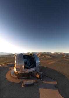 Mit dem größten Spiegel der Welt auf der Suche nach außerirdischem Leben - In Chile entsteht mit dem European Extremely Large Telescope der Sehnsuchtsort für Astronomen und Ingenieure. Wird es auch der Ort, an dem wir Kontakt aufnehmen? Der Spiegel des E-ELT misst 39 Meter. Mehr dazu hier: http://www.nachrichten.at/nachrichten/weltspiegel/Mit-dem-groessten-Spiegel-der-Welt-auf-der-Suche-nach-ausserirdischem-Leben;art17,1661176 (Bild: ESO)