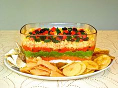 The Mistress of Spices: Indian-style seven-layer dip