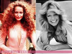 Disco Hairstyles 70s then