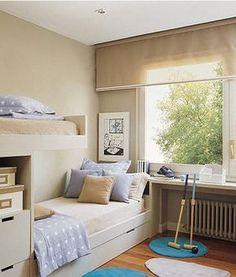 Dormitorios con acento español | Holamama blog