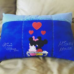 Mouse in Love Remote Control Pillow
