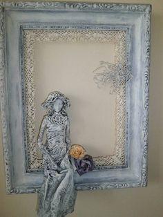 Obraz so sediacou / darin - SAShE.sk - Handmade Obrazy