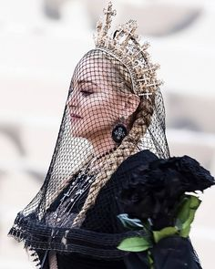 - Madonna: Met Gala The Best Headpieces of the Night, Ranked Music Icon, Pop Music, Madonna Religion, Madonna Looks, Madonna Costume, Madonna Fashion, Madonna Music, Losing My Religion, 31 Days Of Halloween
