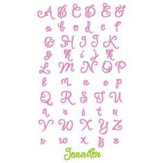Cute Letter Fonts  Bing Images  Font  Asy    Letter