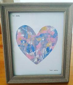 Mess Free Painting Heart Art