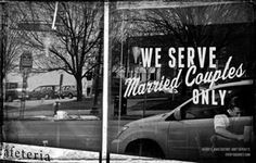 If Amendment One passes, you don't have to walk very far down the line for this type of discrimination and prejudice to be real. The Civil Rights Movement didn't end in 1965. And it won't until all citizens have equal protection under the law. #every1against1