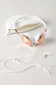 Leather Wrapped Headphones #giftsforher