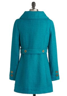 By Your Bayside Coat, #ModCloth