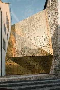 Projekt Janus. Die Sanierung und der Ausbau des Stadtmuseum Rapperswil-Jona stammt von :mlzd aus Biel.