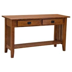 Amish Built Sofa Tables Mart Bedroom Furniture 50 Best Images Solid Wood Living This 48 Mission 2 Drawer Table Displays A Simple Elegance That Has