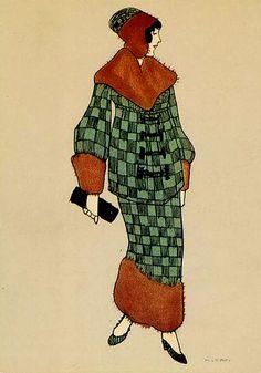 POSTCARD by Maria Likarz-Strauss c.1920's. Source: mello555 on ebay