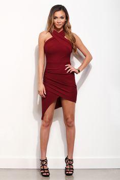 Burgundy Good To You Dress | WindsorCloud