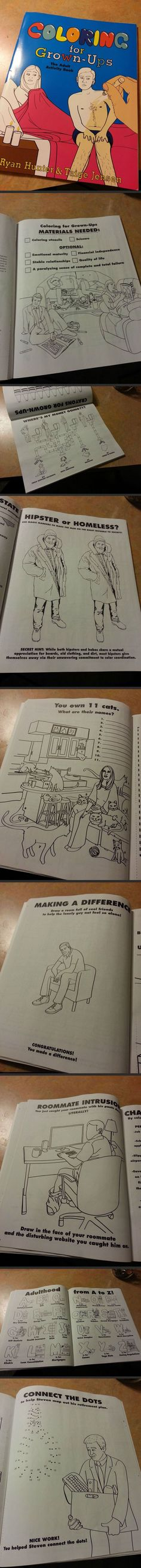 Coloring for Grown-Ups: The Adult Activity Book... For nick