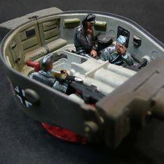 Removing the rear deck reveals the tank's petrol engine Tamiya Model Kits, Tamiya Models, Tiger Tank, Tank Destroyer, Model Tanks, Military Modelling, Ww2 Tanks, Battle Tank, Tank Design