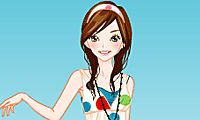 Select a new hairstyle and outfit for this cute girl!