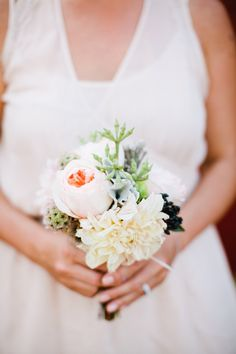 Photography: Birds of a Feather - undefined Event Planning: Savoir Flair Weddings - undefined Event Planning: Sue Wong - undefined Read More on SMP: Dahlia Bouquet, Casual Elegance, Wedding Images, Bird Feathers, Event Planning, Floral Design, Wedding Inspiration, Elegant, Birds