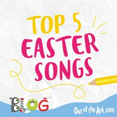 Easter is coming and here are our favourite Easter songs for schools. Includes traditional Easter hymns and more modern songs about chocolate and bunnies! #Easter #EasterMusic #EasterHymns Easter songs for schools, Music for Schools, Spring Term, Hymns, Assembly Music, Choir Songs, Easter Songs for Church, Out of the Ark Music Singing School, School Play, Preschool Songs, Music Activities, Easter Songs For Kids, Primary School Songs, Easter Hymns, Out Of The Ark