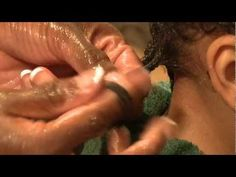 ▶ How to Twist Mixed-Race Curly Hair with Junior Green & Joy Miller - YouTube (At first I thought this was a girl but it's a boy. Not sure I'd have that long of hair on my son.)