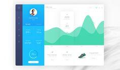 Hygea Dashboard PSD Template