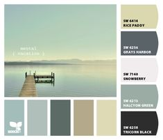 sherwin williams halcyon green- a milder version of some of my faves