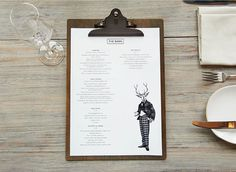 And Smith project for Coworth Park, brand identity for The Barn restaurant and hotel #branding #identity