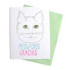 Meow-chos Gracias!