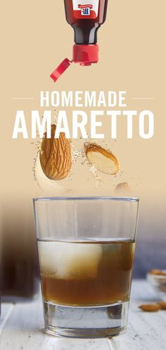 Make your own Homemade Amaretto with McCormick Almond Extract. Comprised of premium ingredients to deliver a perfect balance of fruity and nutty flavors, just a drop helps recreate the signature flavor of this popular liquor.