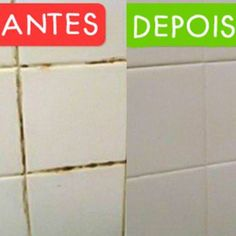 Como Limpar Rejuntes de Pisos e Azulejos Diy Cleaning Products, Cleaning Hacks, Home Health Care, Konmari, Top Freezer Refrigerator, Home Repair, Home Hacks, Clean Up, Home Organization