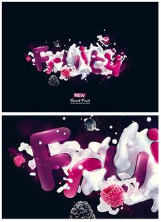 3D Typography by Kevin Roodhorst
