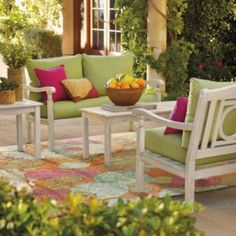 Yorkshire Outdoor Furniture Collection - I like the conversation group