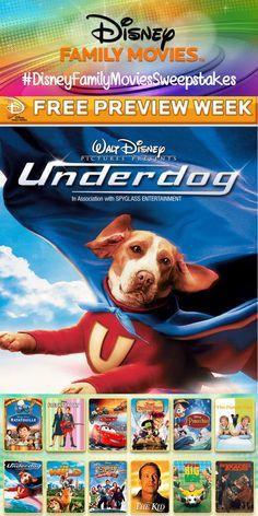 Disney Family Movie Preview Week #DisneyFamilyMoviesSweepstakes