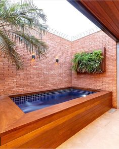Swimming pools are places where people love to relax in and by. The different swimming pools that you will find … Backyard Pool Designs, Small Backyard Pools, Small Pools, Swimming Pools Backyard, Backyard Landscaping, Lap Pools, Indoor Pools, Pool Decks, Small Pool Design
