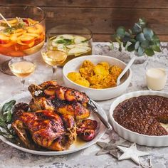 'Tis the season for a festive feast! We've put together a menu that will wow your guests at Christmas! Tis The Season, Tandoori Chicken, Festive, Menu, Ethnic Recipes, Christmas, Food, Menu Board Design, Xmas