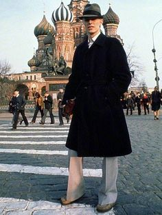 David Bowie. Photo by Andrew Kent. Moscow, Red Square, April 22 1976.