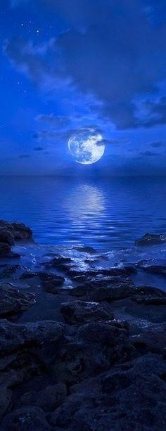 Blue Moon rising ove Amazing World                                                                                                                                                      More