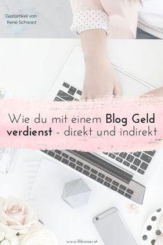 Mit einem Blog Geld verdienen? Dafür gibt es mehrere Möglichkeiten! Die gängigsten Wege, deinen Blog zu monetarisieren, findest du auf www.lillikoisser.at #blog #bloggen #blogmarketing #onlinegefundenwerden Affiliate Marketing, Content Marketing, Online Marketing, Life Hacks, Online Business, Social Media, Motivation, Tricks, Instagram