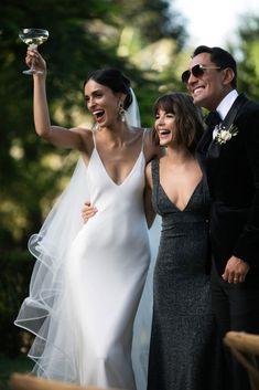 New Wedding Dresses, Bridesmaid Dresses, Formal Dresses, Minimalist Gown, Grace Loves Lace, Silk Gown, The Dress, Beautiful Bride, Wedding Bells