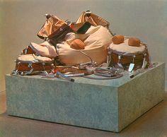 Claes Oldenburg, Giant Soft Drum Set, 1967