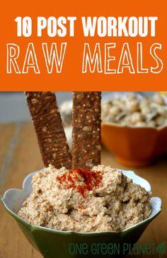 10 Post-workout Raw Meals http://onegr.pl/W3xkJa #veganraw #recipe #plantstrong