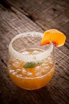 Savory peach cocktail #peach #cocktail #savory