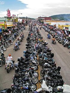 If a party with 400,000 of your closest biker pals sounds like your kind of vacation, come to Sturgis in the Black Hills in August for the annual Sturgis Motorcycle Rally. It's a haven for people watching